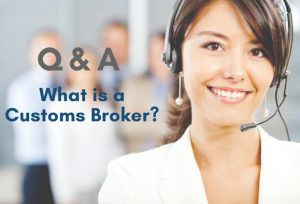 female customer service operator wearing headset